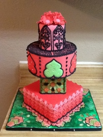 OSSAS 2014 Tiered Cake Entry