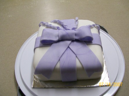 3rd Cake Class Cake