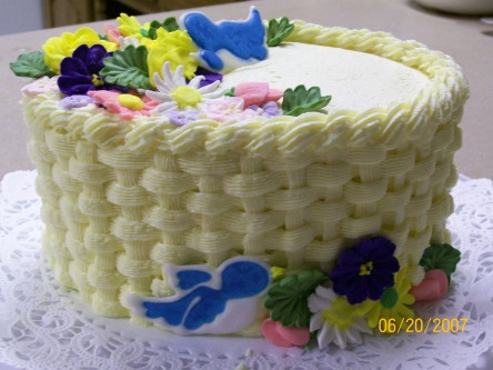Basketweave Cake Course 2