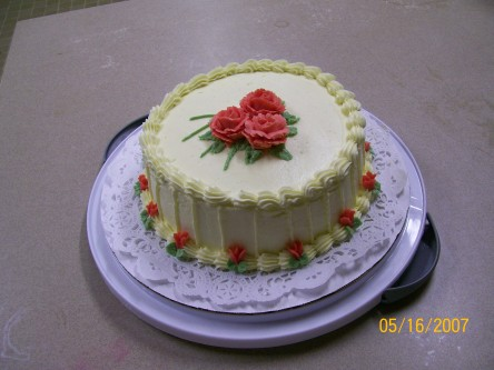 Roses Cake Course1