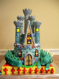 Wilton Castle Cake