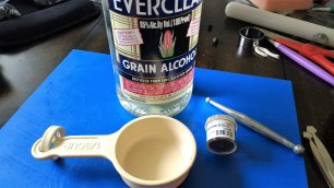 Pic 25 Dusting powder and Everclear