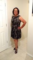 Pic Black Lace Dress