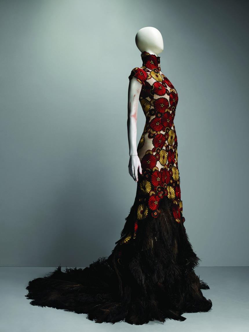 McQueen Red Dress